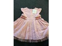 NEW baby dress by next (up to 3 months)