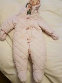 Snow suit like new from mothercare