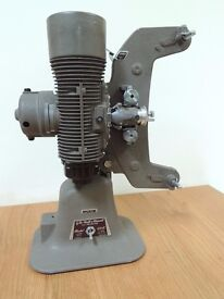Vintage 1950s Bell and Howell 606M 8mm Projector With Case and Screen