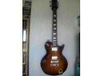 Fret King Eclat Black Label Electric Guitar - Unused - Tobacco Sunburst Finish