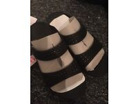 Brand new never worn size 8 fitflop black