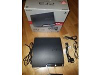 PS3 320gb, 2Controllers and 3games