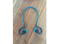 Plantronics BackBeat FIT Wireless Bluetooth Sport Earphones with Armband Blue