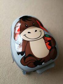 Children's Skyflite Kidz donkey suitcase