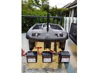 RT4 bait boat for sale Only used twice, at least 14 months warranty remaining