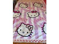 Hello Kitty Single Bed Set