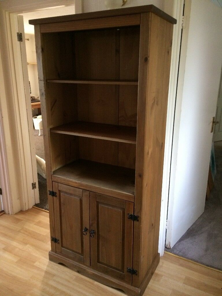 MEXICAN PINE CABINET WITH CUPBOARD AND SHELVES@@ | in Exeter, Devon ...