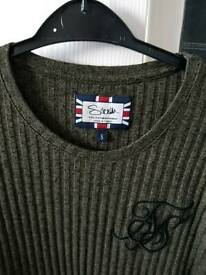 Mens clothing siksilk designer top