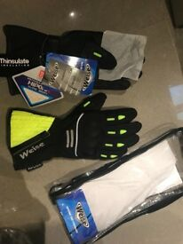 Weise Hornet motorbike/scooter waterproof hipora gloves with hard knuckle RRP £55