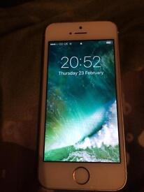 iPhone 5s in gold 32gb unlocked
