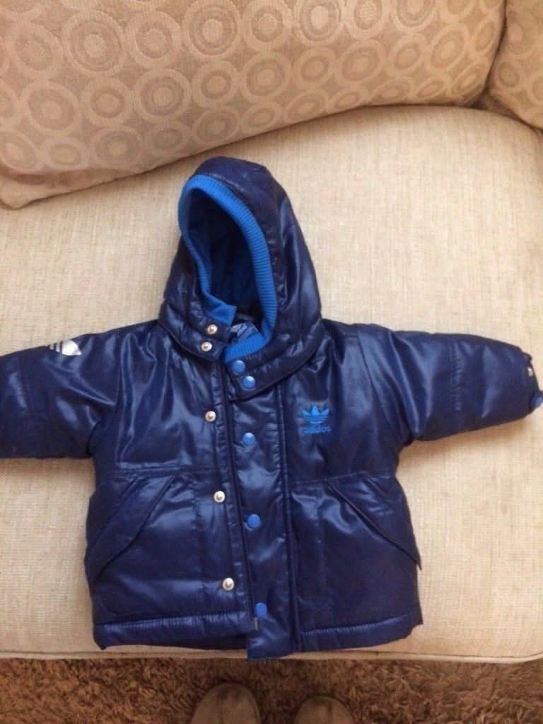 Baby boys adidas coat for sale 0-3 months