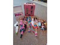 Dolls plus wardrobe