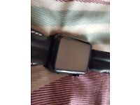 Apple Watch Stainless Steel Black - Mint condition (3 Additional Straps)