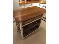 Kitchen island solid wood pull out drawers