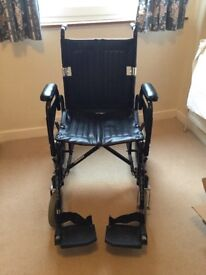 Wheel chair very good condition had little use