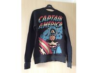 Marvel Captain America top/jumper - Excellent condition