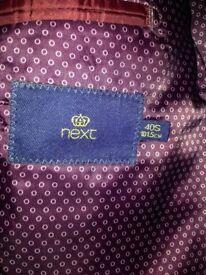 Men's Next grey suit
