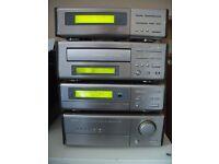 Denon D-100 Compact Component Hi-Fi With Technics SB-CS55 Speakers