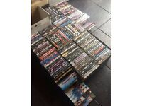 JOB LOT - 180 MIXED DVDS - £25