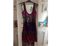 Stunning New look sequin dress size 8 new with tags