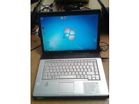 Toshiba Satellite Pro L300, Laptop PC, Intel Pentium Dual Core T2330 @ 1.6 GHz, Windows 7