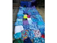 Huge job lot of fabric / material for sewing/craft