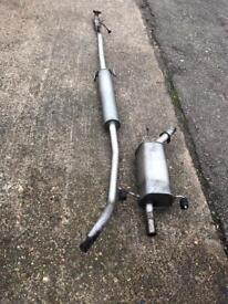 Vauxhall corsa 1.2 exhaust