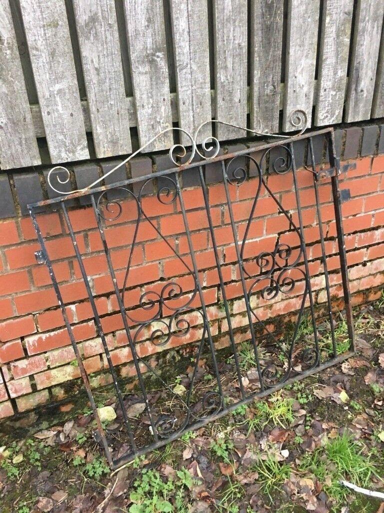 Wrought Iron Garden Gate / Pedestrian Gate call for info | in Orrell ...