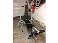 Weights bench - Home gym