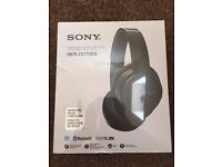 Brand New Sony Wireless Voice Cancelling Stereo Headset-Black-MDR ZX770BN