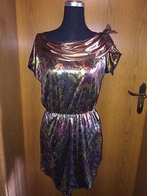 Damenkostüm-Faschings Kleid von Hilka Karneval Moderner Stil Mehrfarbig Gr.38/40