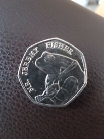 jeremy fisher 50p