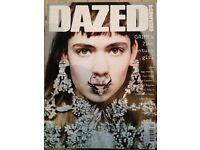 JobLot of Fashion Magazines includes Dazed, AnOther, Hunger, Garage, Wonderland, i-D