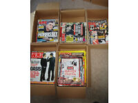 NME magazines from April 2000 to November 2009
