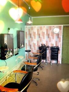 Lovely Pastel Interior Hair Salon Broadview Port Adelaide Area Preview