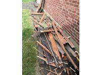 Broken Up Shed - Good for Firewood