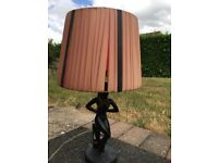 Unusual naked lady table lamp