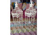 Bird cage/ornate tea light holder