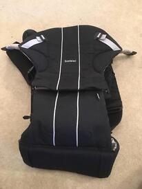 BABYBJÖRN Baby Carrier Comfort (Black, Organic)