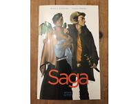 Saga Graphic Novel Book 1