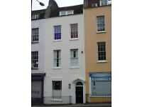 Lovely furnished 2 double bed top floor flat, central location, great city views. Available 11 July