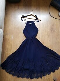 Whistles Navy blue Dress Size 10