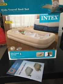 New & in box kids intex travel bed