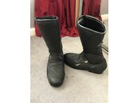Frank Thomas Ladies Motor Cycle Boots size 6
