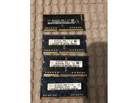 HYNIX 10GB + SK HYNIX 2GB (DDR3L -PC12800S) Memory