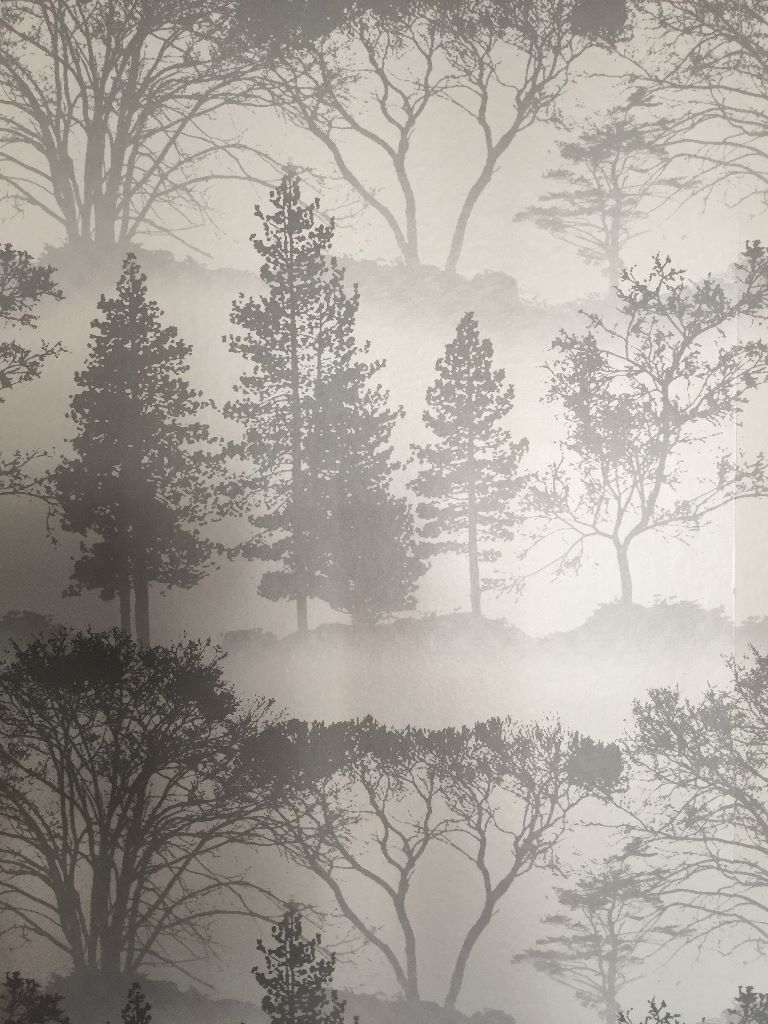 Grey Tree Mirage By Graham And Brown Wallpaper From Homebase