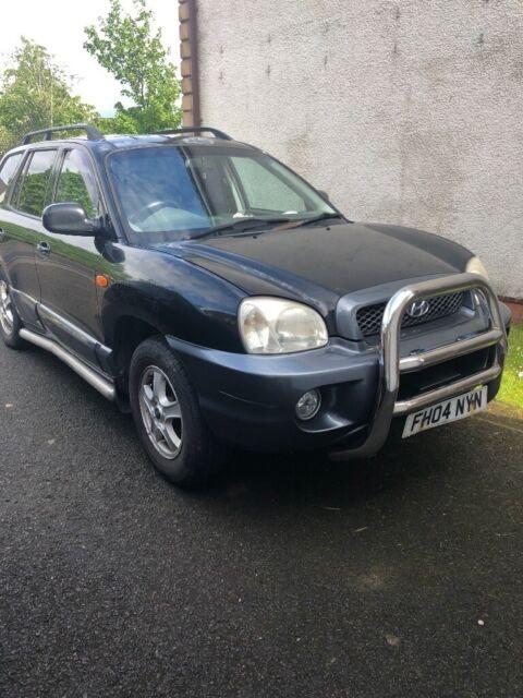 Hyundai Santa Fe 04 Plate Spares Or Repair 5 Good Tyres Engine Problem In Bishopbriggs Glasgow Gumtree
