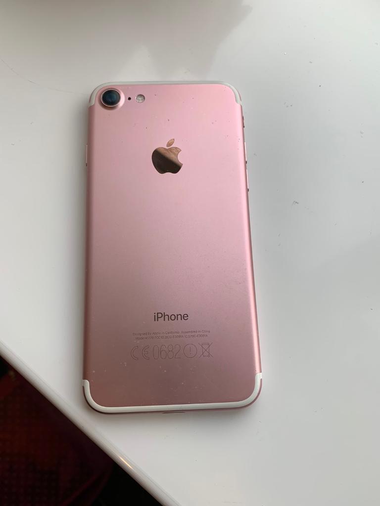 Iphone 7 32gb Rose Gold In Pontyclun Rhondda Cynon Taf Gumtree 32 Gb