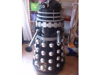 Full size Dalek 'Remembrance ' style screen accurate 1980s version Black/silver