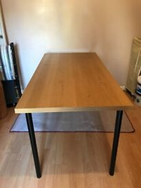 Ikea Linnmon Desk/table with screw on/off legs only £15
